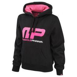 Womens pullover hoodie logo