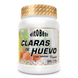 Claras de Huevo de 500g del fabricante VitoBest (Proteína de Huevo)