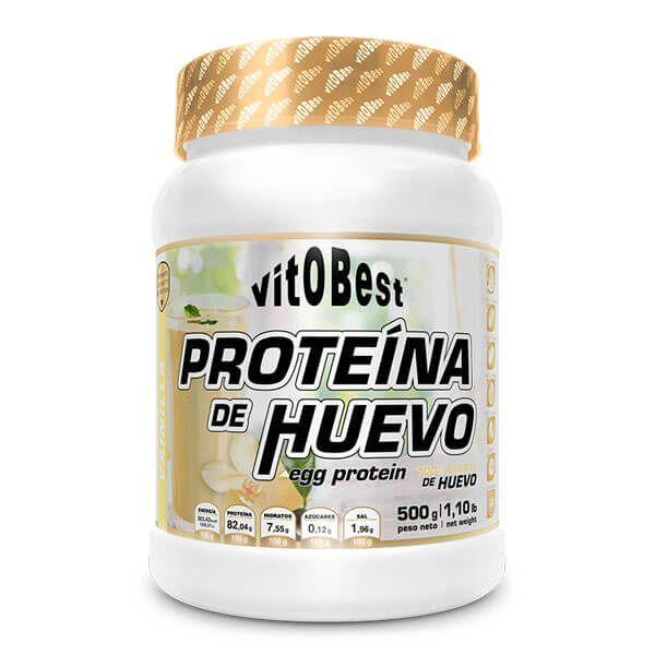 Proteína de Huevo envase de 500g de la marca VitoBest