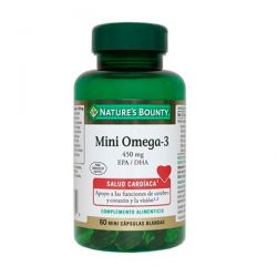 Mini Omega-3 450mg EPA/DHA - 60 Softgels