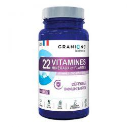 22 Vitaminas, Minerales y Plantas - 90 Tabletas