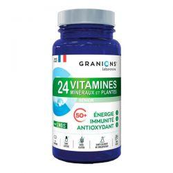 24 Vitaminas, Minerales y Plantas - 90 Tabletas