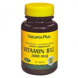 Vitamina B12 2000mcg - 60 tabletas