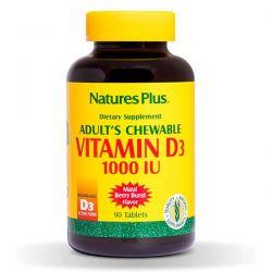 Vitamina D3 1000IU  - 90 Tabletas