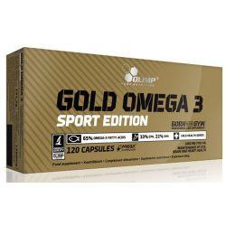 Gold Omega 3 Sport Edition - 120 cápsulas