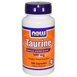NOW Taurina 500 mg - 100 Caps