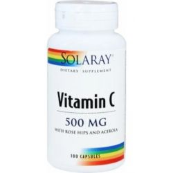 Vitamina C 500mg - 100 cápsulas [Solaray]