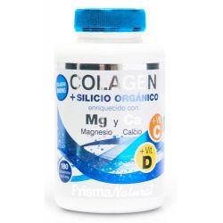 Colágeno + silicio orgánico - 180 tabletas [PrismaNatural]