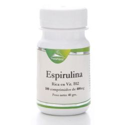 Espirulina - 100 tabletas [PrismaNatural]