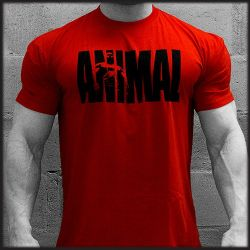 Camiseta Animal Roja