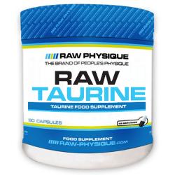 Raw Taurina - 90 cápsulas [RAW Physique]