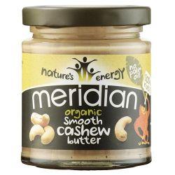 Crema de Anacardo Orgánica - 170g [Meridian Foods]