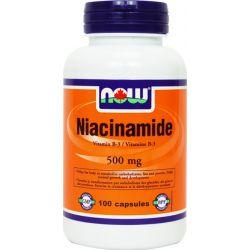 Niacinamida 500mg - 100 cápsulas