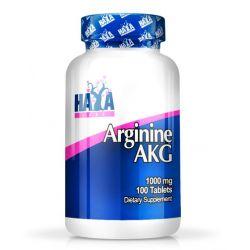 Arginina AKG 1000mg - 100 tabletas [Haya Labs]
