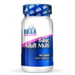 Multivitamínico Básico para Adultos - 100 tabletas [Haya Labs]