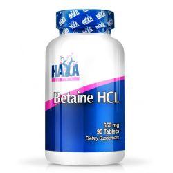 Betaina HCL 650mg - 90 tabletas [Haya Labs]