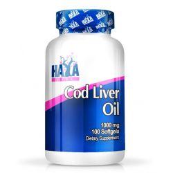 Aceite de Hígado de Bacalao 1000mg - 100 softgels [Haya Labs]