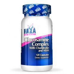 Complejo de Glucosamina Condroitina y MSM - 120 cápsulas [Haya Labs]